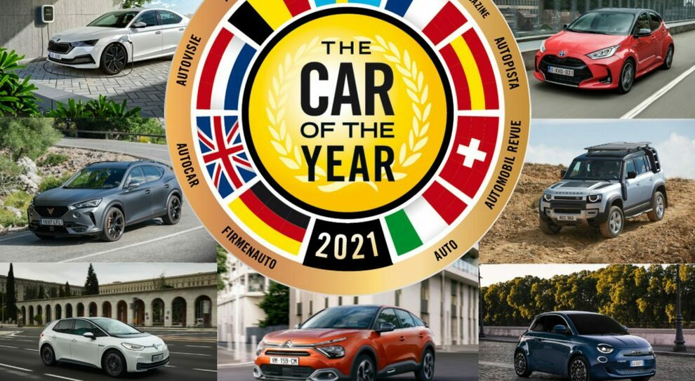 Car of the Year 2021: ecco le 7 finaliste
