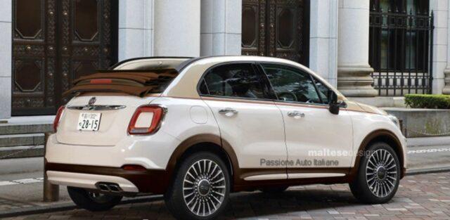 Nuova Fiat 500X Cabrio: ecco come sarà. Render dei nuovi interni?
