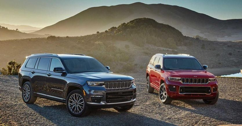 Nuova Jeep Grand Cherokee L: eleganza e 7 posti di serie