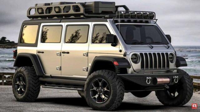Nuova Jeep Wrangler Van: sogno o realtà? [VIDEO e FOTO]