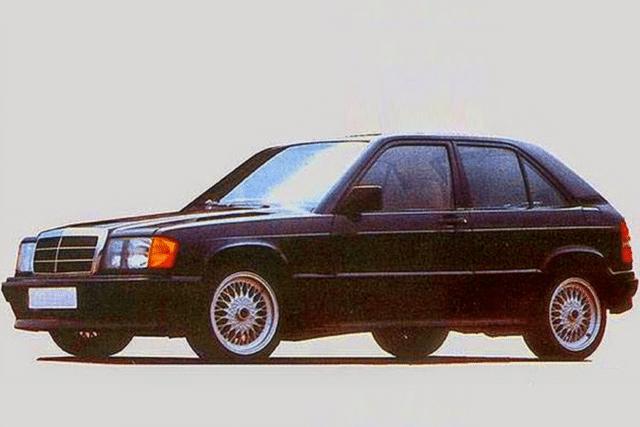 Nuova Mercedes Classe A, ecco la 190E City, antenata anni '80