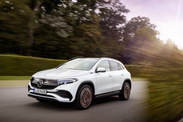 Nuova Mercedes EQA: prezzi ed info del suv elettrico derivato dalla GLA