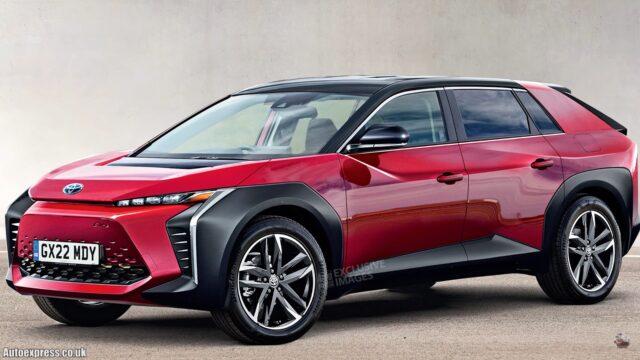 Nuova Toyota BZ 2022: il primo suv elettrico [FOTO e VIDEO]