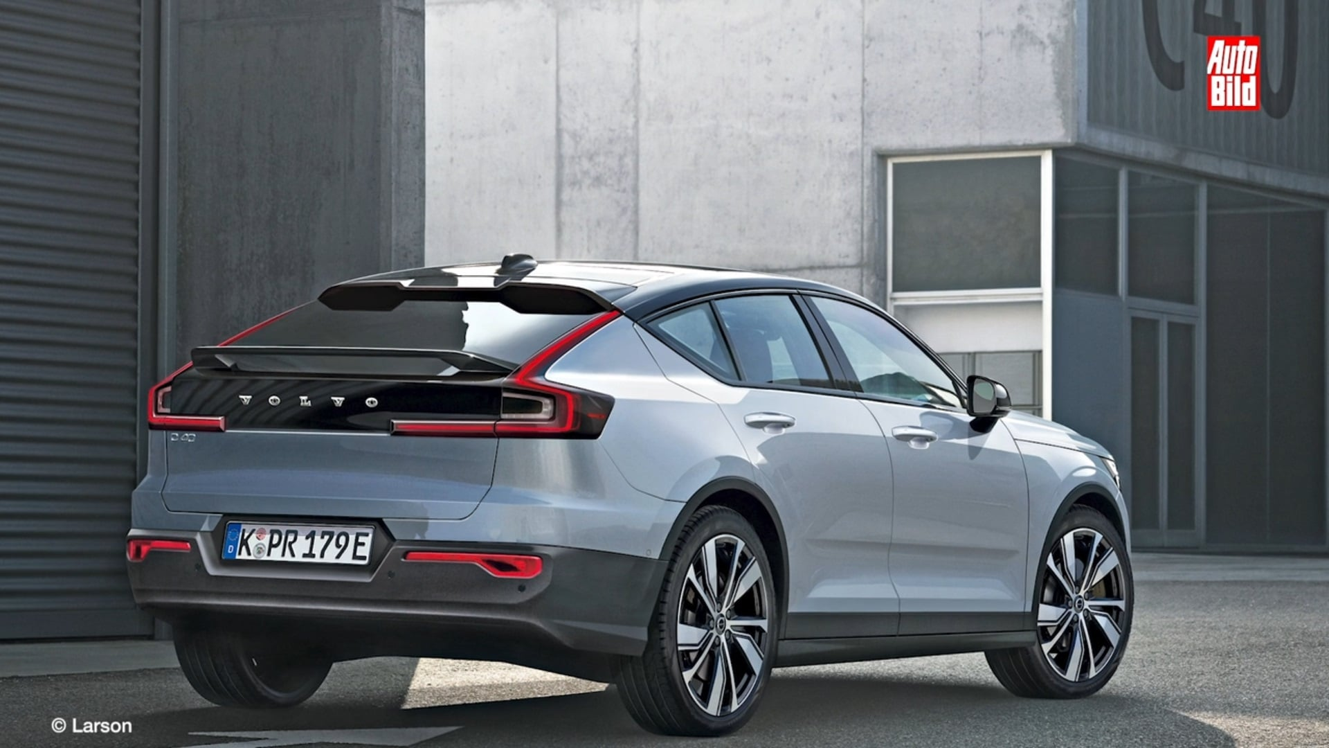 Nuova Volvo C40 2021, suv coupè elettrico. Prime informazioni